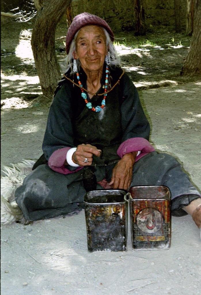 Foto gemaakt tijdens persoonlijke reis naar Ladakh in 2003