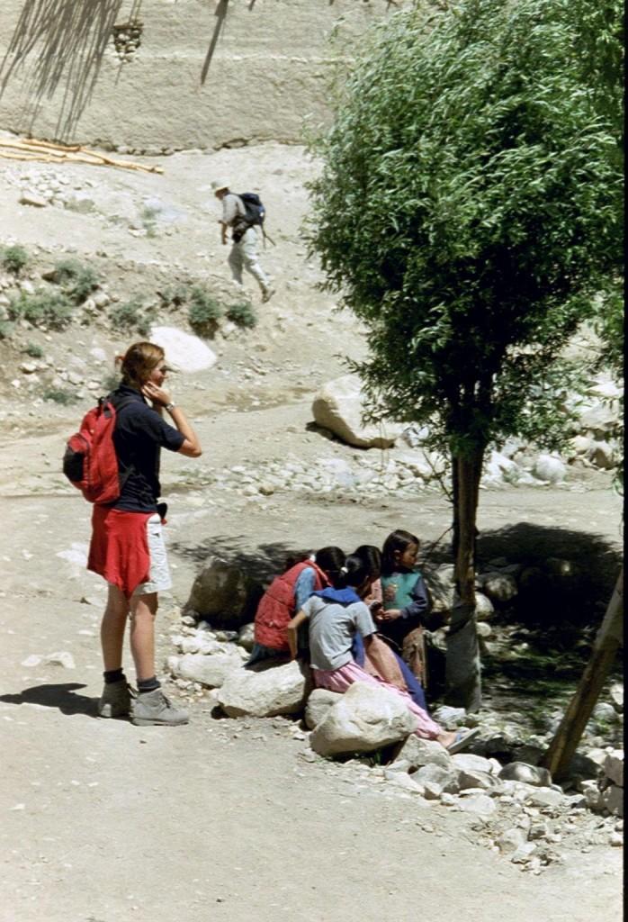 Wag zag ik zelf toen ik naar Ladakh keek en daar rondwandelde in 2003?