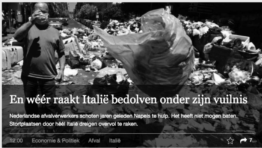 vuilnis-italie